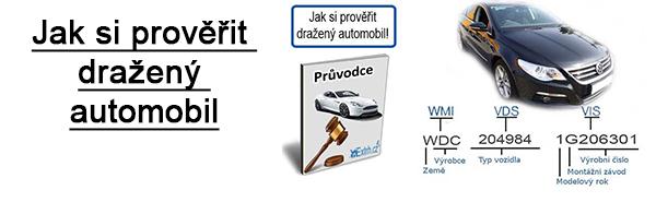 Jak si prověřit dražený automobil