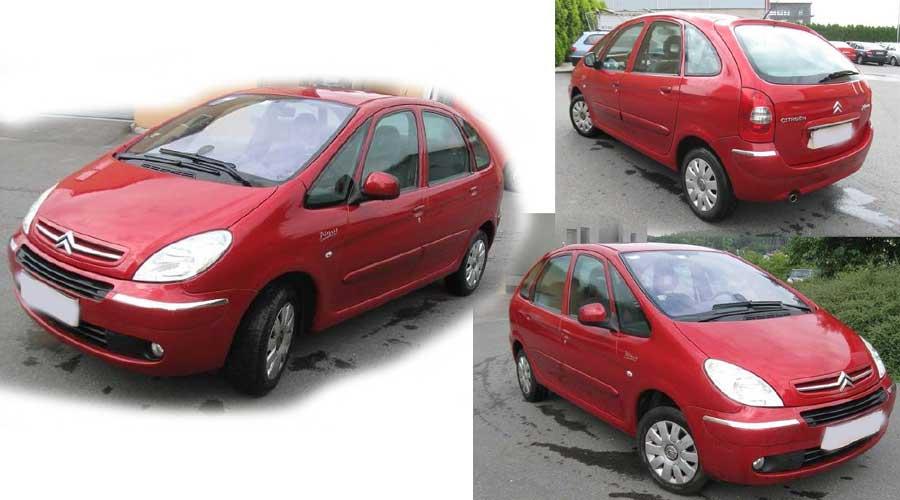 16.9.2016 Dražba automobilu Citroën Xsara Picasso, r. 2010, vyvolávací cena 45.000 Kč.