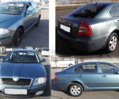 1.4.2017 Aukce automobilu Škoda Octavia II., r. 2010, vyvolávací cena 49.000 Kč.