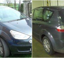 25.5.2017 Dražba automobilu Ford Combi S-Max, r. 2009. Vyvolávací cena 80.000 Kč.