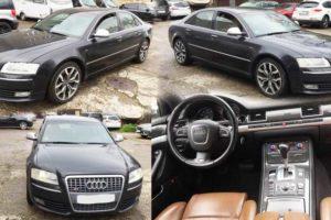 25.5.2017 Dražba automobilu Audi S8, r. 2008. Vyvolávací cena 100.000 Kč.