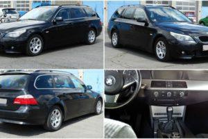 Aukce automobilu BMW 530D. Vyvolávací cena 83.000 Kč.