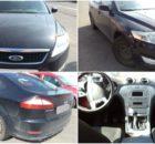 4.7.2017 Dražba automobilu Ford Mondeo, r. 2009, vyvolávací cena 50.000 Kč.
