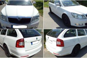 4.7.2017 Dražba automobilu Škoda Octavia 1.9, r. 2010. Vyvolávací cena 58.000 Kč.