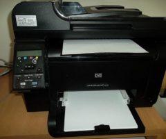 15.6.2017 Dražba tiskárny zn. HP Laser Jet. Vyvolávací cena 1.300 Kč.
