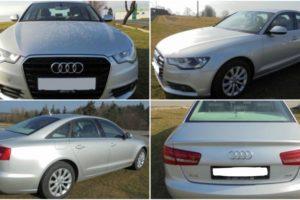 21.6.2017 Dražba automobilu Audi A6, r. 2011. Vyvolávací cena 160.000 Kč.