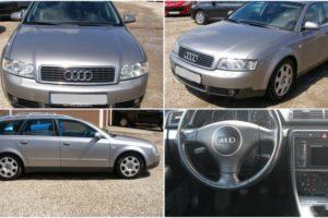 31.5.2017 Aukce automobilu Audi A4 Combi. Vyvolávací cena 15.000 Kč.