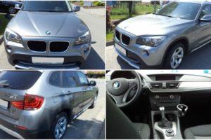 4.7.2017 Dražba automobilu BMW X1 xDrive, r. 2010, vyvolávací cena 115.000 Kč.