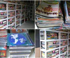 Do 10.7.2017 Výběrové řízení na prodej souboru movitých věcí (knihy, CD, časopisy). Minimální kupní cena 10.500 Kč.
