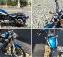 3.8.2017 Dražba motocyklu Yamaha Virago. Vyvolávací cena 5.330 Kč.
