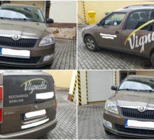 27.7.2017 Dražba automobilu Škoda Roomster, r. 2013. Vyvolávací cena 100.000 Kč.