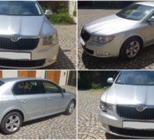 16.8.2017 Aukce automobilu Škoda Superb 4M5, r. 2011. Vyvolávací cena 235.000 Kč.