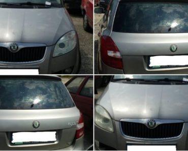 Automobil Škoda Fabia, r. 2008 byl vydražen za 27.000 Kč. Odhadní cena 60.000 Kč.