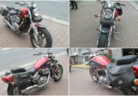 30.8.2017 Dražba motocyklu Suzuki 800 AF. Vyvolávací cena 22.000 Kč.