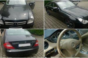 K prodeji mimo dražbu – automobil Mercedes – Benz CLS 500. Minimální kupní cena 130.000 Kč.