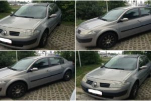 Do 31.8.2017 Výběrové řízení na prodej automobilu Renault Megane 1.6. Minimální kupní cena 55.000 Kč.