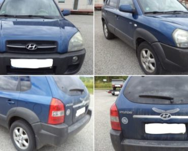 Vydraženo za 70.000 Kč, odhadní cena 120.000 Kč – automobil Hyundai Tucson.