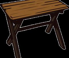 Do 14.9.2017 Výběrové řízení na prodej menšího stolu. Minimální kupní cena 50 Kč.