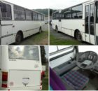 Aukce autobusu Karosa C. Vyvolávací cena 74.000 Kč.