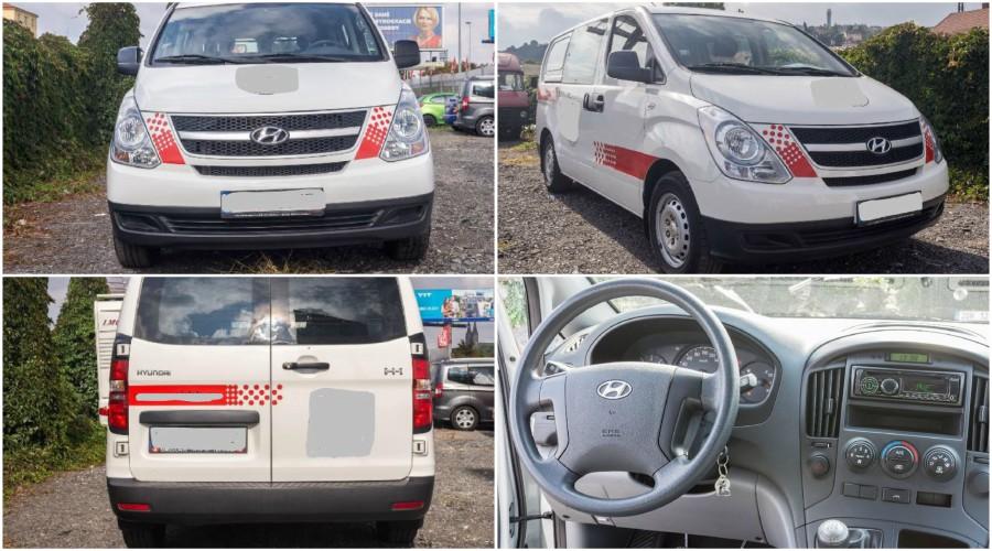 Dražba automobilu Hyundai H-1, r. 2011.