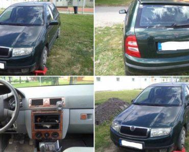 Automobil Škoda Fabia byl vydražen za 40.800 Kč. Odhadní cena 66.000 Kč.