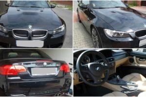 1.11.2017 Dražba automobilu BMW M3 cabriolet, r. 2010. Vyvolávací cena 580.000 Kč.