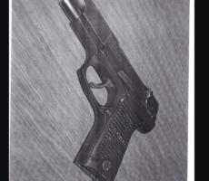 Chráněno: 26.10.2017 Dražba samonabíjecí pistole Ruger. Vyvolávací cena 2.000 Kč.