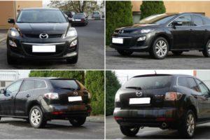 20.10.2017 Dražba automobilu Mazda CX-7, r. 2010. Vyvolávací cena 100.000 Kč.