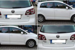 21.11.2017 Dražba automobilu VW Golf Plus, r. 2013. Vyvolávací cena 125.000 Kč.