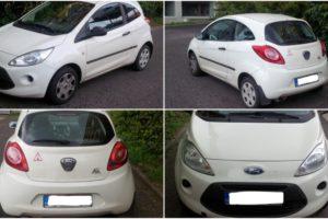 25.10.2017 Dražba automobilu Ford KA 1.3, r. 2010. Vyvolávací cena 35.000 Kč.