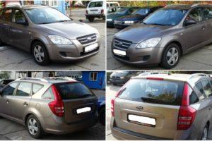Aukce automobilu Kia Cee´D Combi 1.6. Vyvolávací cena 38.800 Kč.
