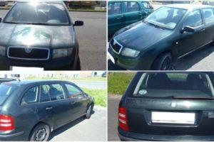 Do 15.11.2017 Výběrové řízení na prodej automobilu Škoda Fabia Combi. Minimální kupní cena 34.300 Kč.