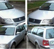 15.11.2017 Dražba automobilu VW Passat Variant. Vyvolávací cena 15.000 Kč.