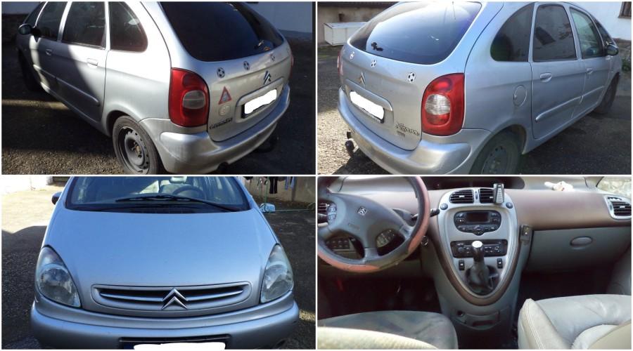 14.12.2017 Dražba automobilu Citroën Xsara Picasso. Vyvolávací cena 7.000 Kč.