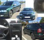 26.10.2017 Dražba automobilu Škoda Octavia Combi 4×4. Vyvolávací cena 40.000 Kč.