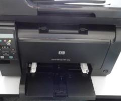 12.12.2017 Dražba tiskárny HP. Vyvolávací cena 1.400 Kč.