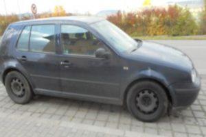 Do 28.2.2018 K prodeji mimo dražbu – automobil Volkswagen Golf. Prodej nejvyšší nabídce.