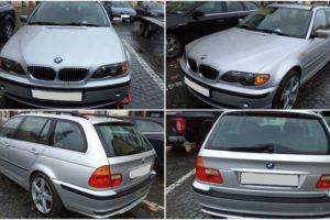11.1.2018 Dražba automobilu BMW. Vyvolávací cena 20.000 Kč.