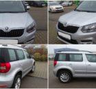 Do 27.11.2017 Aukce automobilu Škoda Yeti 1.2 TSI Fresh, r. 2015. Vyvolávací cena 303.000 Kč.