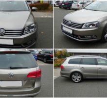 Do 27.11.2017 Aukce automobilu Volkswagen Passat Variant (B7), r. 2014. Vyvolávací cena 422.000 Kč.
