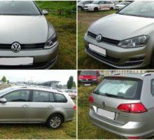27.11.2017 Aukce automobilu Volkswagen Golf VII Variant 1.6 TDI, r. 2015. Vyvolávací cena 259.000 Kč.
