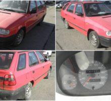 2.12.2017 Dražba automobilu Škoda Felicia, combi. Vyvolávací cena 1.000 Kč.