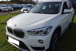 Do 18.12.2017 Dražba automobilu BMW X1. Vyvolávací cena 780.000Kč.