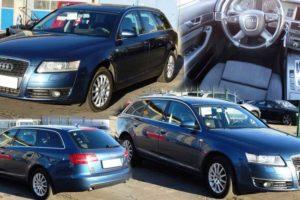 Aukce automobilu Audi A6 Avant . Vyvolávací cena 140.000Kč.