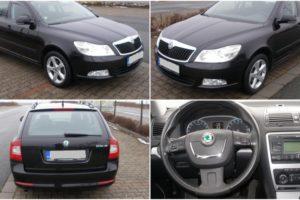 31.1.2018 Aukce automobilu Škoda Octavia combi 2.0 TDI, r. 2012. Vyvolávací cena 90.000 Kč.