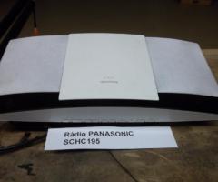 12.2.2018 Dražba rádia + CD přehrávač + USB značky Panasonic SC-HC195. Vyvolávací cena 350 Kč.