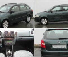 31.1.2017 Aukce automobilu Škoda Fabia Combi 1.9 TDi. Vyvolávací cena 30.000 Kč