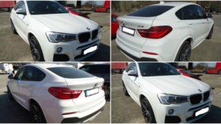 Do 26.2.2018 Aukce automobilu BMW X4 Xdrive 20D 4×4, rok 2015. Vyvolávací cena 1.120.000 Kč.