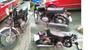 Dražba motorky JAWA 350