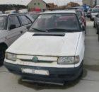 27.3.2018 Dražba automobilu Škoda/ barva bílá. Vyvolávací cena 300 Kč